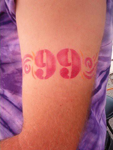 Tribal 99 Airbrush Tattoo Airbrush Gypsy Temporary Airbrush Tattoos