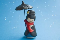 Mary Poppins (::smyii::) Tags: toys diy wooden doll handmade mary nanny craft disney clay etsy poppins polymer