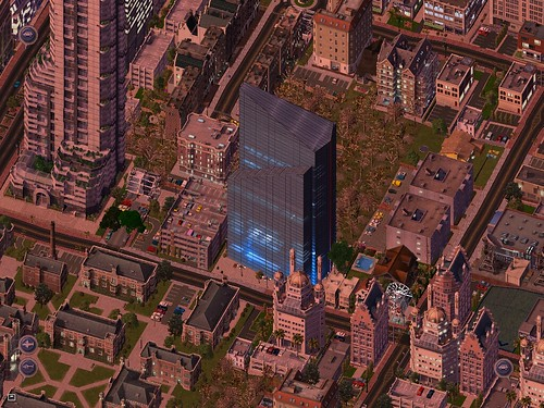 Preferred Exchange Tower. SimCity 4 Stock Exchange