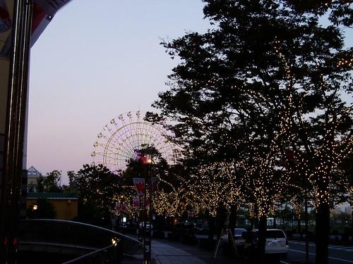 你拍攝的 神戶港。