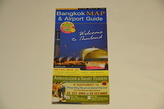 Bangkok Map and Airport Guide