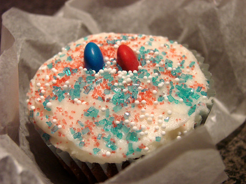 Election Day Cupcake