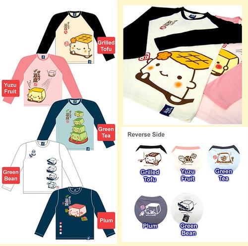 Hannari Tofu Long Sleeve T-shirts