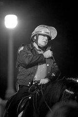 (Brian Hagy) Tags: horse chicago riot election cops rally police gear il cop grantpark law enforcement obama e08 e08grantpark e08cops