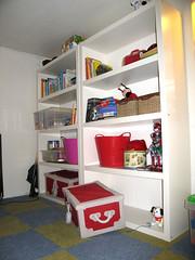 Ikea Lack toy shelf