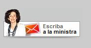 Logo del e-mail de la ministra