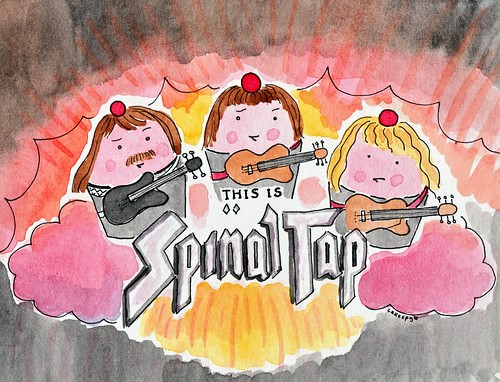 Custom request, Spinal Tap Cupcakes