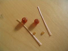 Supplies for making stitch-markers