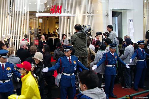 H&M Harajuku Opens