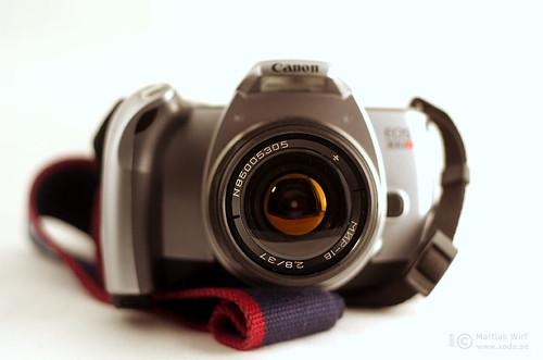 Mir-1V on Canon EOS 300V