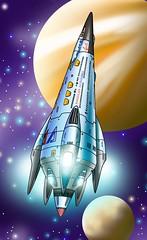 AmericanAstrolinesStarship copy (ArtraccoonEmpire) Tags: anime space scifi spacecraft starship starships