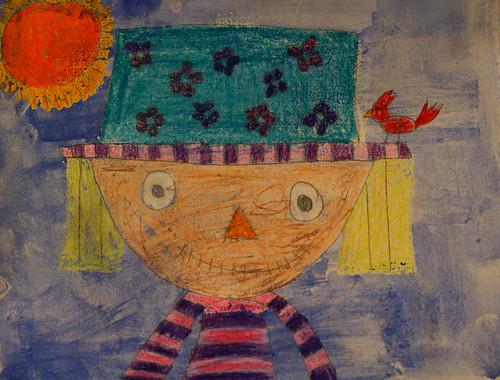 Samantha's scarecrow
