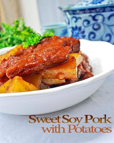 sweet soy pork