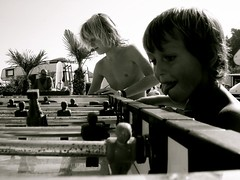 Concentrated (monalou) Tags: summer game kids children soccer wildchild childrenportrait playingkids wildkid