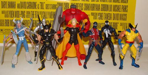 Marvel Legends (Red Hulk Wave)