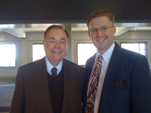 David Boren and Wesley Fryer