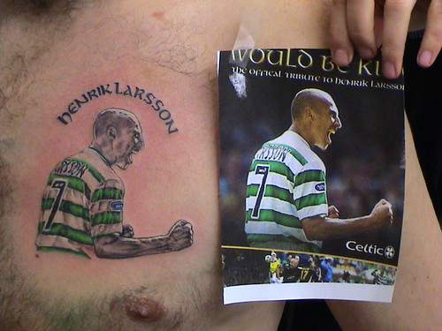 Portrait tattoos TalkCeltic The Ultimate Celtic FC Forum