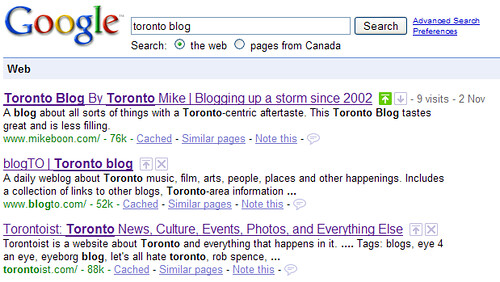 logged in google