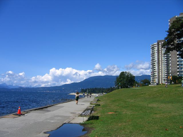 english bay towards the aquabus