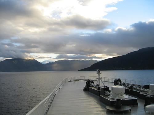 QE2 in Norwegian Fjords