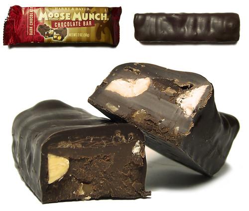 Dark Chocolate Moose Munch Chocolate Bar