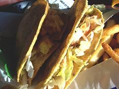 Jack in the Box Tacos (mooshee85) Tags: food lunch restaurant washington tacos fast curly fries wa silverdale jaxkinthebox