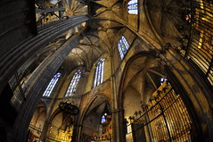 """Inside the Cathedral in Barcelona • <a style=""""font-size:0.8em;"""" href=""""http://www.flickr.com/photos/71572571@N00/3065634720/"""" target=""""_blank"""">View on Flickr</a>"""