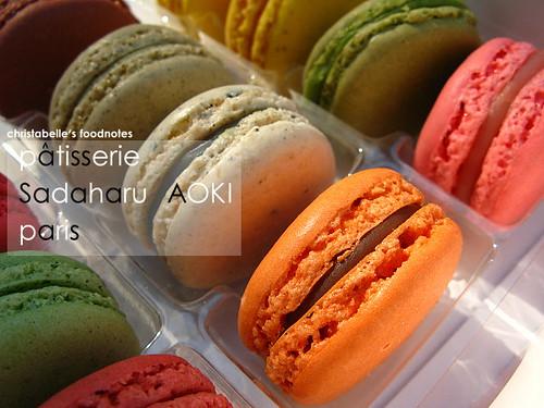 AOKI macarons
