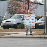 Debt Protest - Nov 28, 2008 thumbnail