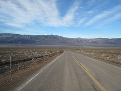 Looking back Panamint Dry Lake