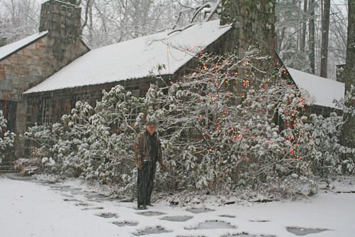 Mentone snow