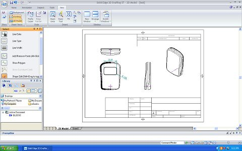 solid edge 2d drafting � free 2d cad software � studio rola