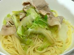 鍋物風スパゲティ