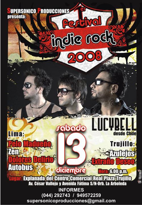 Afiche Indie Rock