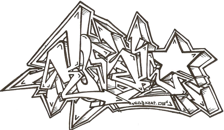 Tipos de letras graffiti