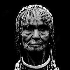 Old hamar woman Ethiopia (Eric Lafforgue) Tags: africa old woman black sad artistic dam african explore ornament oldwoman rides ripples bodypainting ethiopia rite barrage hamar tribo indigenous hamer adornment tms pigments hammar indigenouspeople hairdress omo eastafrica thiopien etiopia ethiopie etiopa tellmeastory tribalgirl lafforgue  indegenous etiopija ethiopi  artlibre etiopien etipia  etiyopya  nomadicpeople   tribalgirls    06185 salinicostruttori    gibeiiidam gibe3dam bienvenuedansmatribu peoplesoftheomovalley