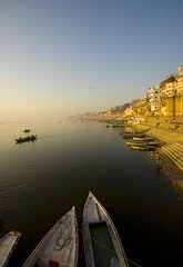 Glorious sunrise at Kashi (sapru) Tags: morning travel sunset india tourism water sunrise river boats religious dawn boat still cool fantastic quiet peace religion transport relaxing scenic restful calming surreal floating peaceful tranquility calm silence harmony transportation rivers serenity varanasi destination serene dreamlike hush kashi stillness pilgrimage tranquil balanced poised gentle ganga soothing calmness ganges quietness ghats banaras comforting pilgrims benaras composed ghat otherworldly illusory boatmen unruffled untroubled unperturbed unworried trancelike unlimitedphotos
