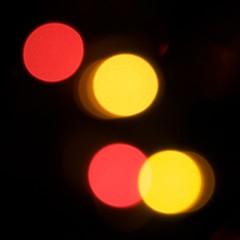 obligatory (DarinAZ) Tags: bokeh cliche playedout reddot overdone yellowdot redlorryyellowlorryredlorryyellowlorry