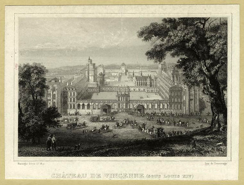 012- Castillo de Vincenne bajo el reinado de Luis XIV