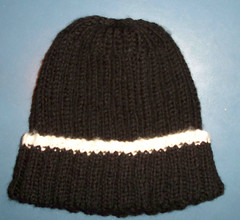Man's Striped Hat