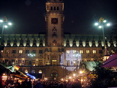 hamburger weihnachtsmarkt (Gabi Vogt) Tags: christmas xmas germany weihnachten deutschland weihnachtsmarkt townhall rathaus bittersweetchoc