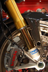 Hypermotard Front End (thinmac) Tags: world show international cycle motorcycle ducati brembo supermotard ohlins
