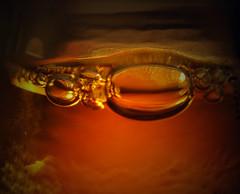 dove cade la goccia (arcutifrancesca) Tags: macro arancio vetro bolle crodino