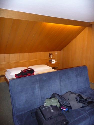 Slanty room