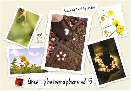Great photographers vol.5