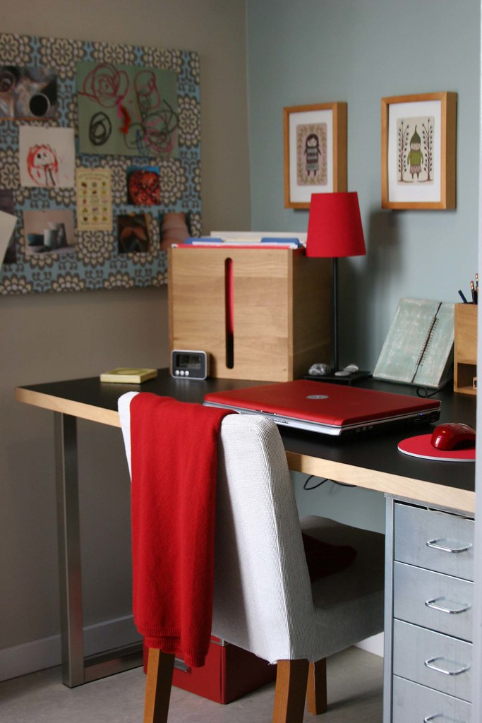 Kitchen and Home office