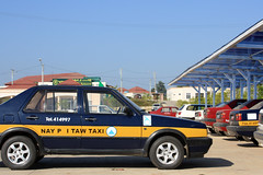 Naypyidaw Taxi by clkr