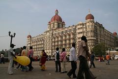 ムンバイの観光名所のタージホテル
