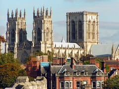 York Minster Cathedral.