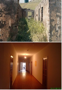 Sharoi Corridor, Before and After